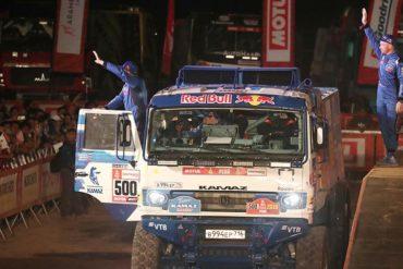 Российская команда КАМАЗ-мастер выиграла Дакар-2019