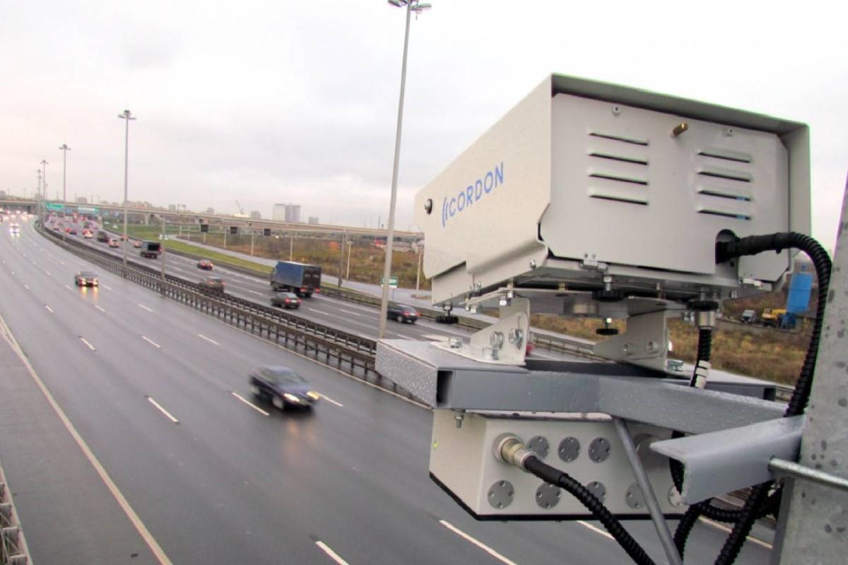 Камеры фиксации нарушений на ЗСД Санкт-Петербурга заработали. Места установки оборудования нанесены на карту
