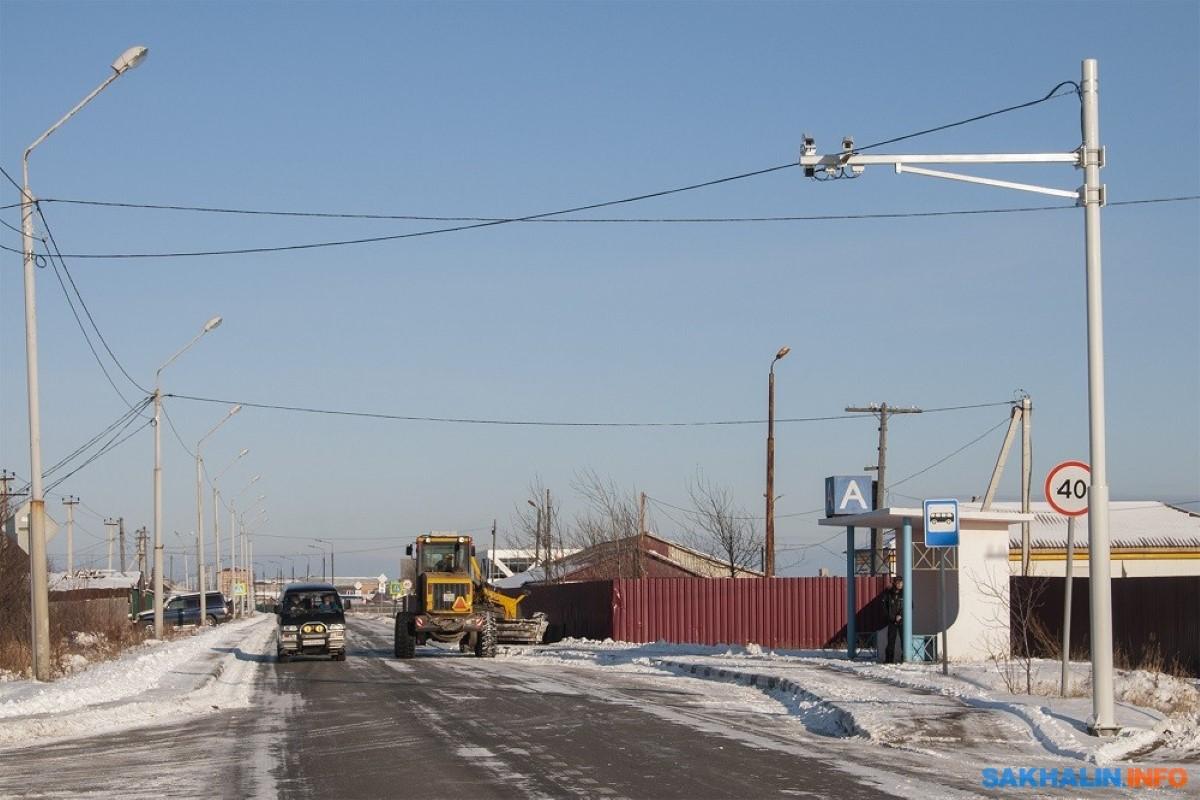 В Поронайском районе запущены стационарные комплексы фотовидеофиксации