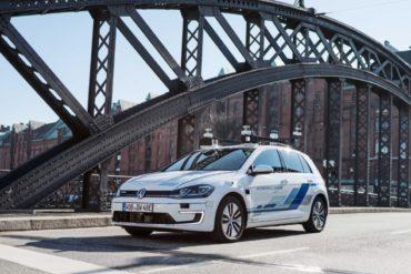 Volkswagen начал тесты беспилотников на улицах Германии