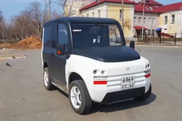 В России планируют запустить серийное производство электромобилей Zetta