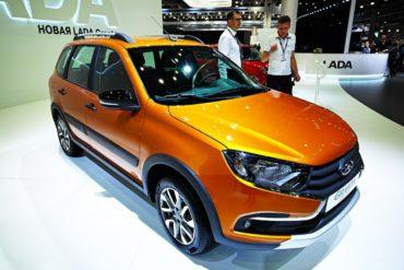 АвтоВАЗ начинает продажи универсала Lada Granta Cross