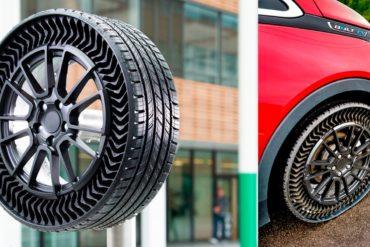 Без проколов: Michelin и General Motors начали тестировать новые безвоздушные шины
