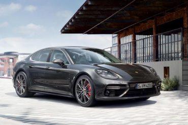 В России отзывают более 2 тысяч автомобилей Porsche Panamera из-за возможности возгорания
