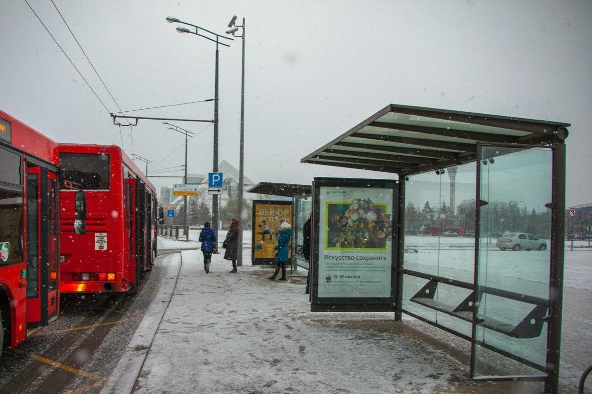 Остановки общественного транспорта в Воронеже оборудуют камерами