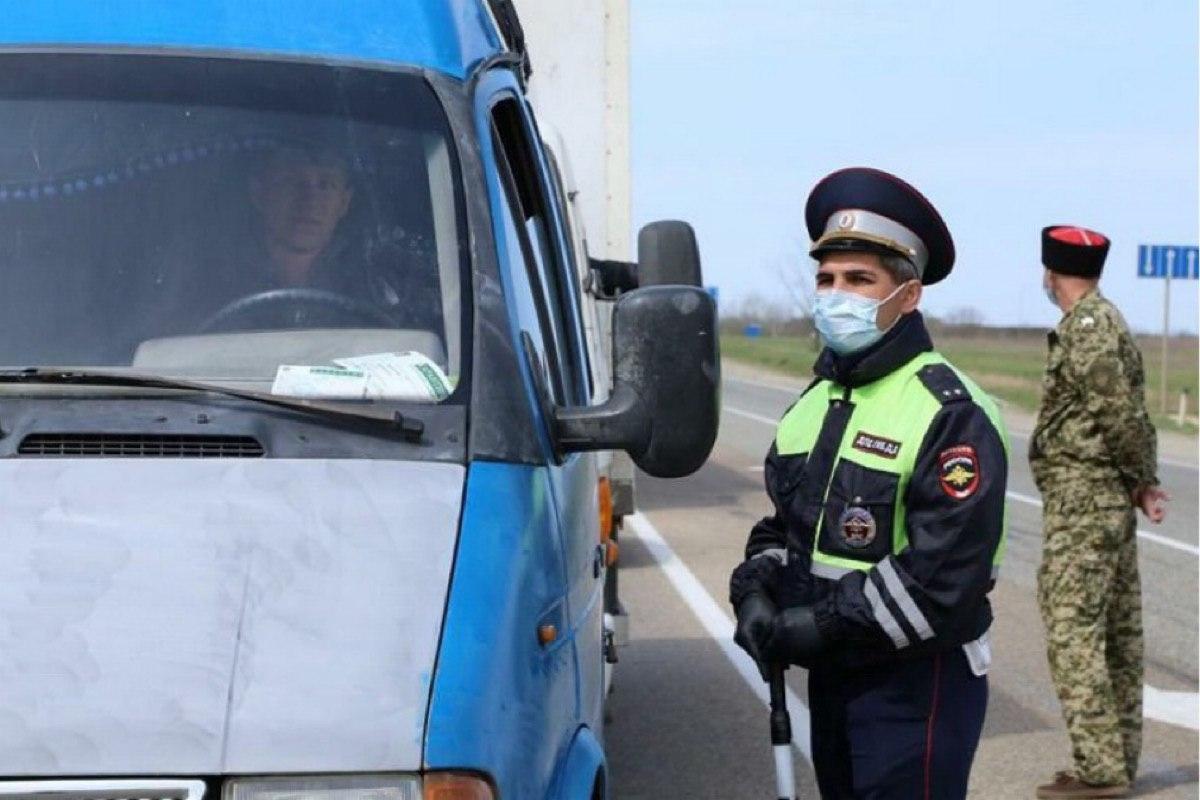Ограничение движения на главных дорогах Кубани