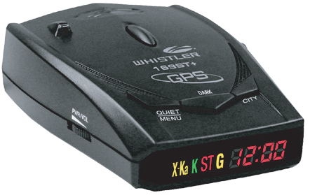 Радар-детектор Whistler WH 169ST + Ru