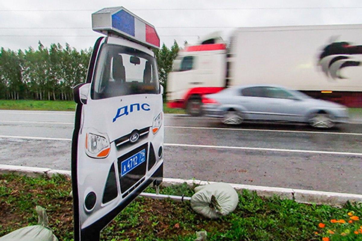 На дорогах Подмосковья появится 750 муляжей машин ГИБДД