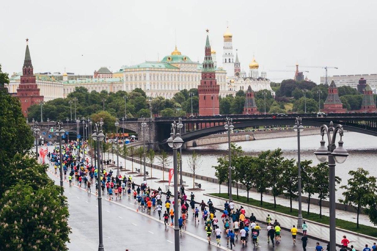 Ограничения движения 20 сентября в Москве в связи с проведением марафона