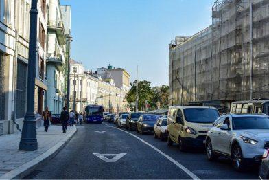 С 7 ноября в очередной раз изменяются правила проезда по выделенкам Москвы