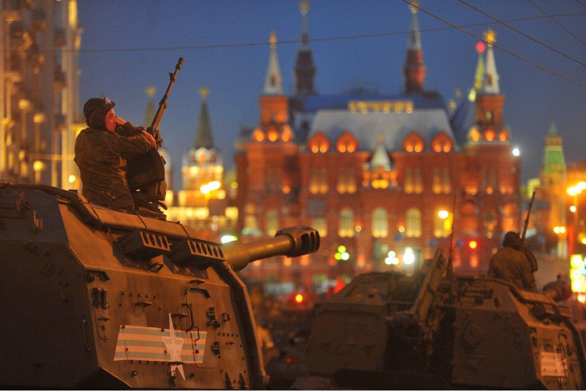 Ограничение движения в Москве в период подготовки к параду Победы