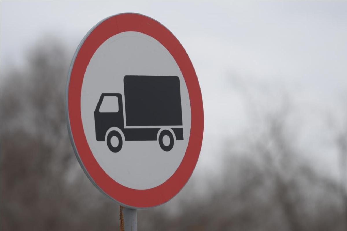 В Краснодаре могут ввести ограничение движения для грузовиков