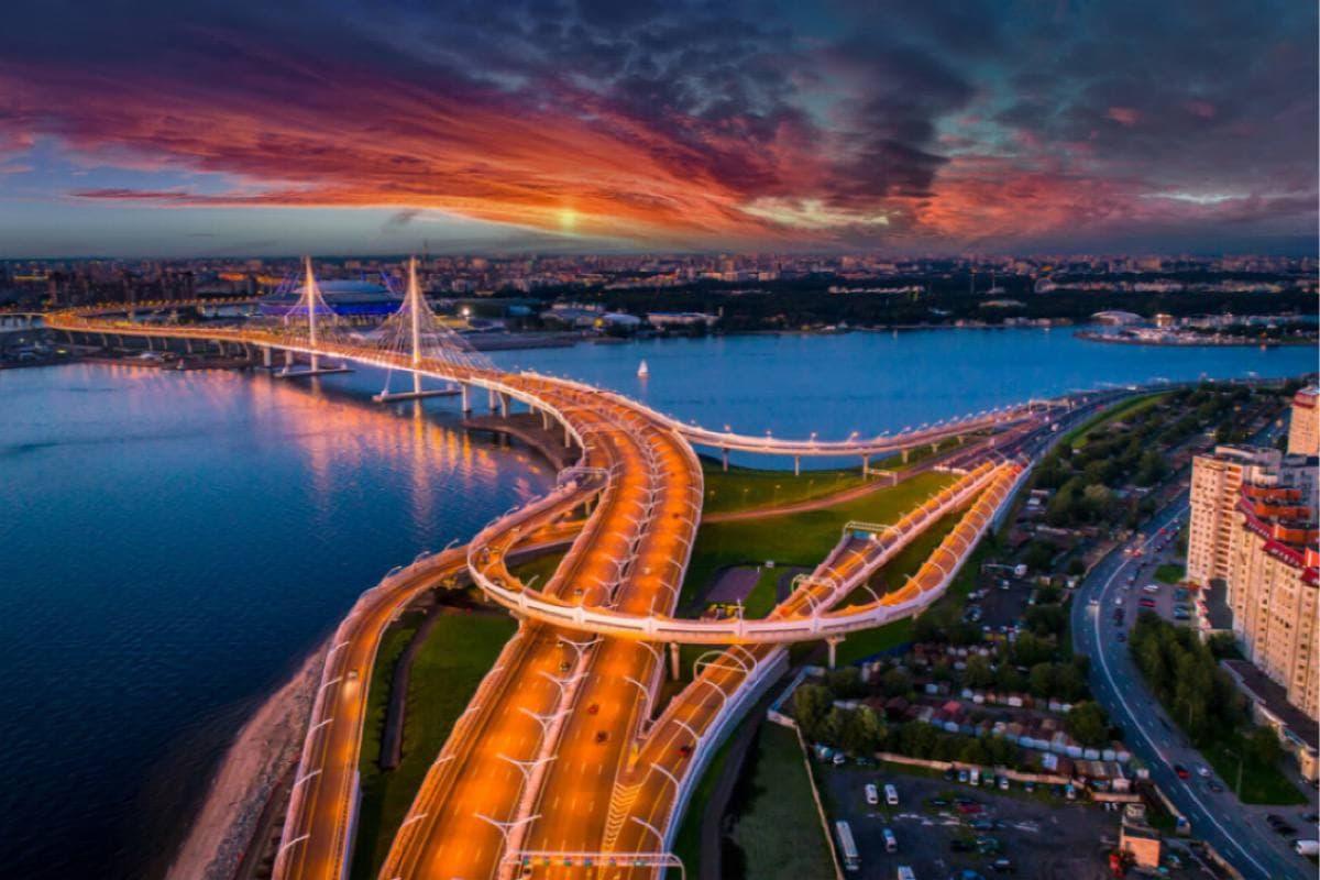 Ограничения движения наЗападном скоростном диаметре в Санкт-Петербурге с 1 по 6 июня
