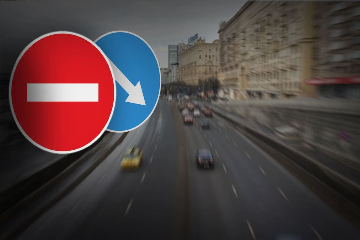 На Моховой улице ограничат движение с 31 августа по 9 сентября