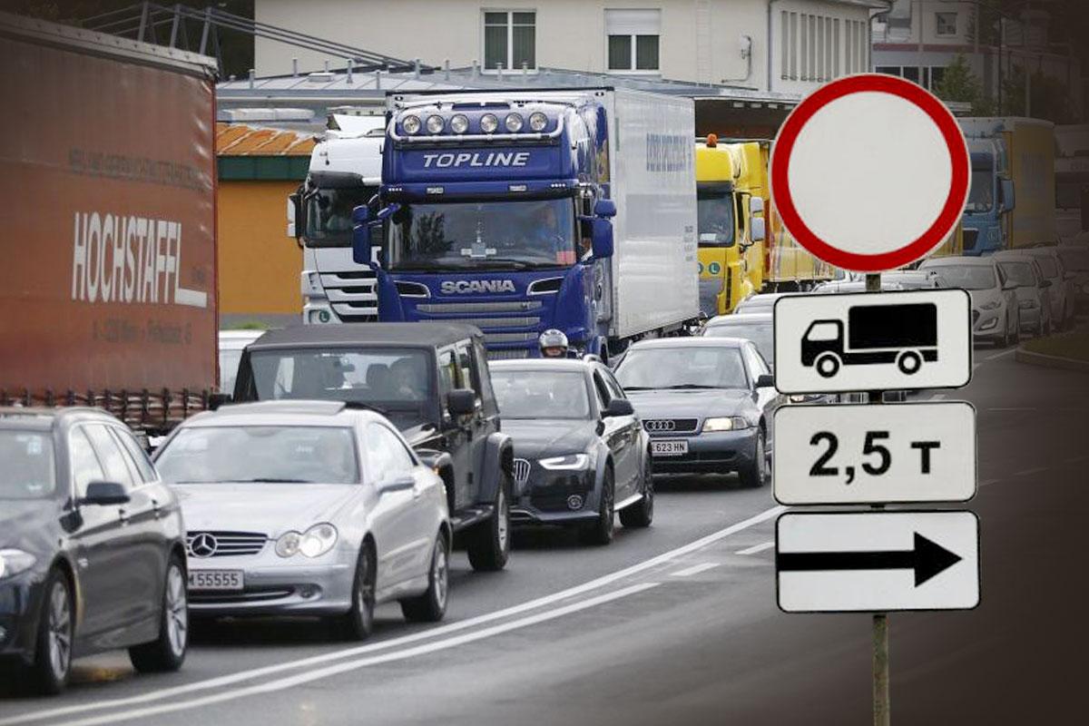В Краснодаре вводят ограничения на движение грузовиков